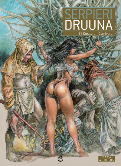 capa do tomo 2 de Druuna